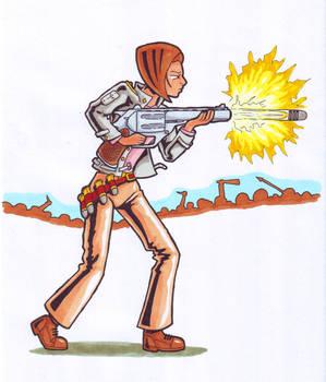 RimWorld Pistol Size