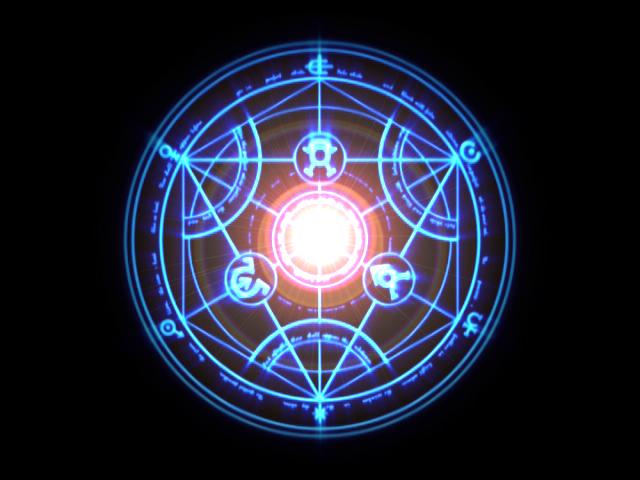 Izayoi Sumashuu[APPROVED 2-3] Transmutation_circle_activated_by_cosmovsgoku