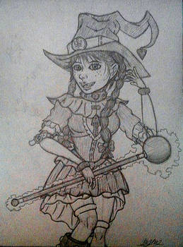 Request - Anette The Witch (Sketch)