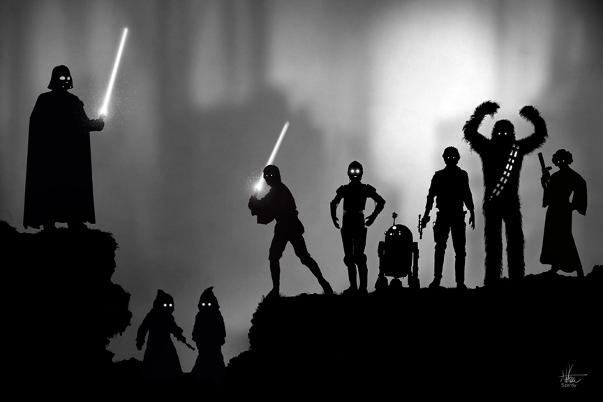 Star Wars/LIMBO by Nszerdy