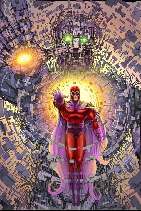 Magneto Sentinel by Nszerdy