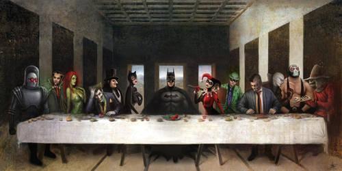 Batmans Last Supper by Nszerdy