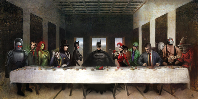 Batmans Last Supper by Nszerdy