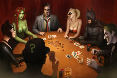 Batman Poker by Nszerdy