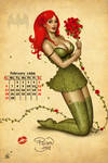 Poison Ivy Pinup Girl