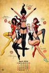 Spider girls Pinup!