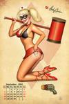 Harley Calendar Girl Pinup 2.0