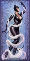 Art Nouveau Catwomn