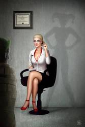 Harley Psychiatrist by Nszerdy