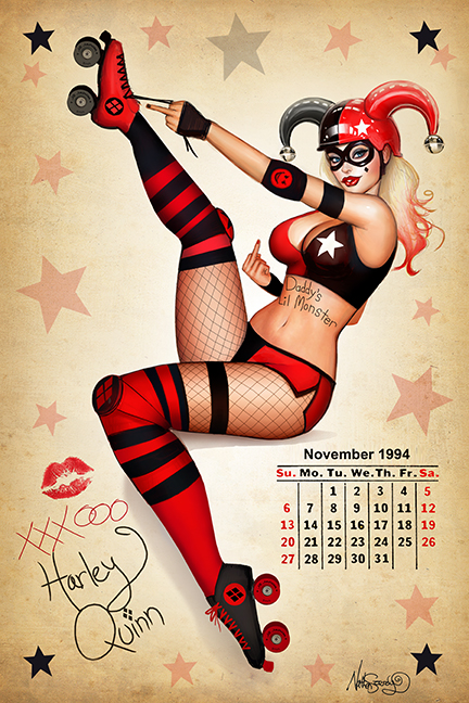 Updated Roller Derby Harley (now with Fishnets) by Nszerdy