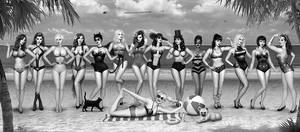 DC girls Day at the Beach