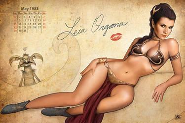 Leia Pinup Calendar
