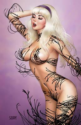 Naughty Gwen Stacy Venomized