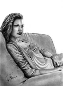 Lady on a Sofa