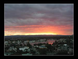 Sunset in Gold Coast