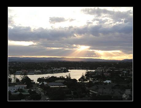 Sunset in Gold Coast II