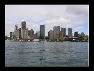 Sydney Harbour by AEvision