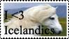 Better Icelandic stamp by SparklinBurgndy