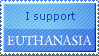 Euthanasia Stamp by Bumsy