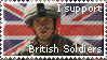 British Soldiers Stamp by Bumsy