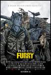 Furry spoof movie poster DerangedMeowMeow 2014