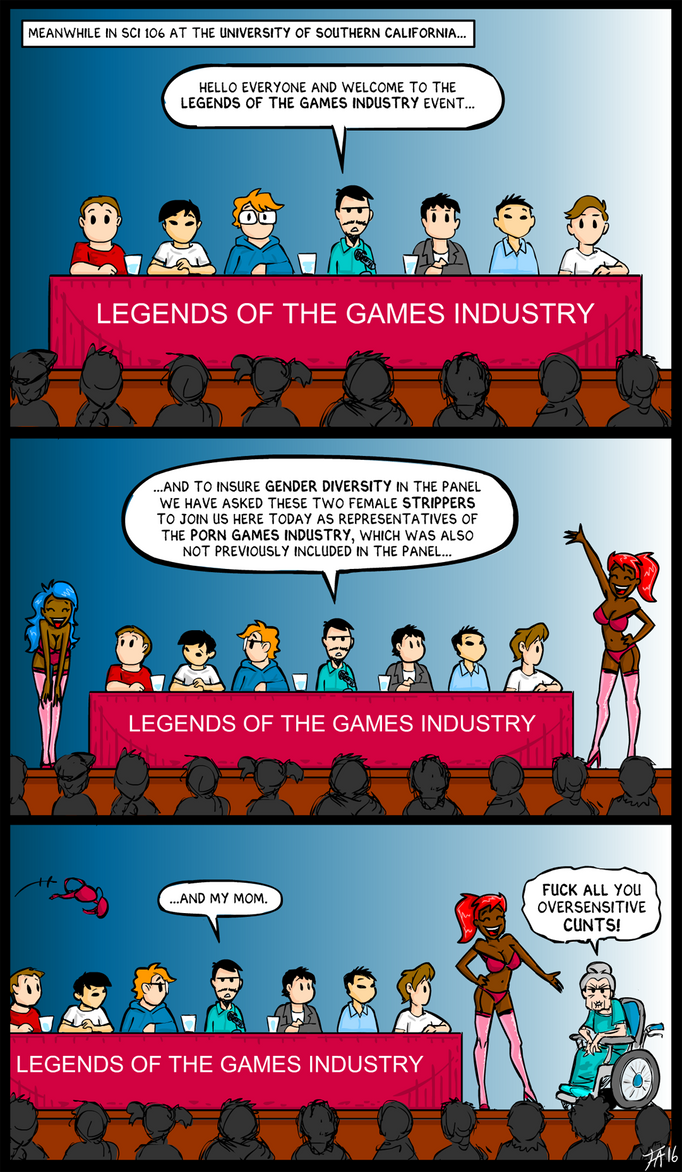 Legends of the Games Industry by DerangedMeowMeow