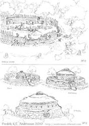 Goblin Architecture 1 (2010) by DerangedMeowMeow