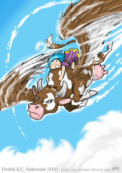 Winged Cow Action (2010)