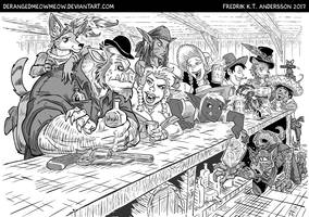 DnD Wild West RPG - Character Races by DerangedMeowMeow