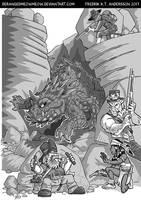 DnD Wild West RPG - Monsters by DerangedMeowMeow