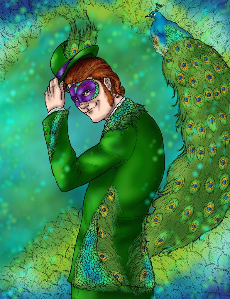{Peacock} by AngeloDellaMusica