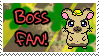 Boss Fan Stamp by Atlanta-Hammy