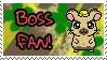 Boss Fan Stamp by Atlanta-Hammy