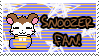Snoozer Fan Stamp by Atlanta-Hammy