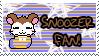 Snoozer Fan Stamp by Atlanta-Hammy