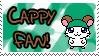 Cappy Fan Stamp by Atlanta-Hammy
