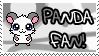 Panda Fan stamp by Atlanta-Hammy