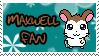 Maxwell fan stamp by Atlanta-Hammy