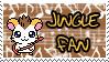 Jingle fan stamp by Atlanta-Hammy