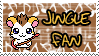 Jingle fan stamp by Atlanta-Hammy