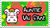 Auntie-Viv Fan stamp by Atlanta-Hammy