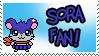 Sora Fan by Atlanta-Hammy