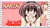 Karin - Chibi Vampire Stamp by Atlanta-Hammy