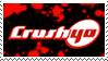 Crush 40 stamp by Atlanta-Hammy