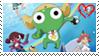 Keroro super movie 2 stamp by Atlanta-Hammy