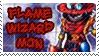 Flamewizardmon Stamp by Atlanta-Hammy
