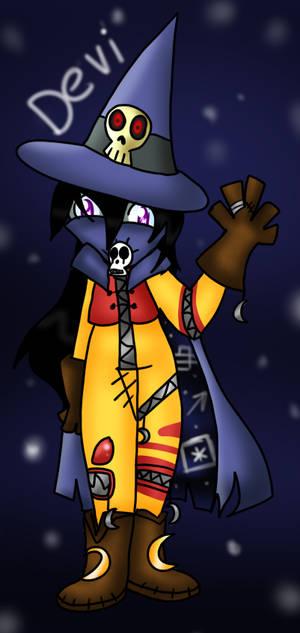 Wizardmon Devi