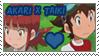 Akari x Taiki stamp by Atlanta-Hammy