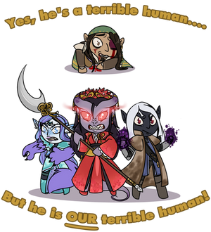 High Rollers - He is OUR human!