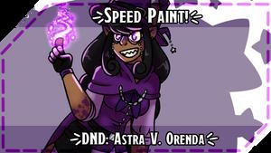 Astra V. Orenda Speed Paint
